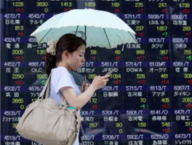 Chứng khoán châu Á tăng vọt sau hội nghị G - 20