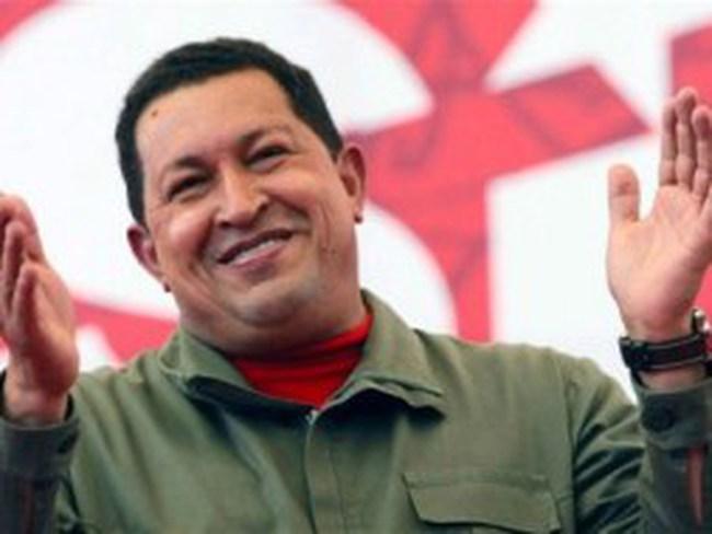 Tổng thống Hugo Chavez đã trở về Venezuela sau điều trị ung thư