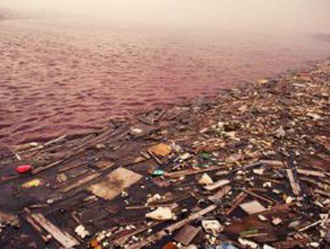 Cận cảnh những con sông ô nhiễm ở Trung Quốc
