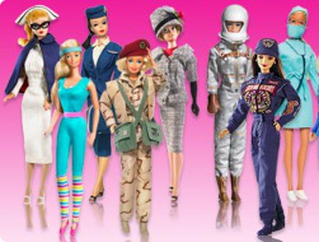 Búp bê Barbie và tiền lương ở Mỹ