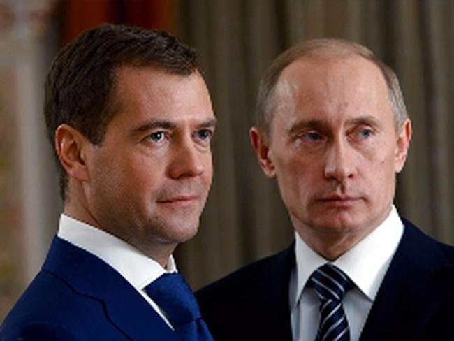 Soi thu nhập năm 2012 của nhà Putin, Medvedev