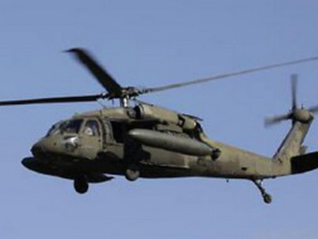 Trực thăng quân sự của Mỹ rơi sát biên giới Triều Tiên