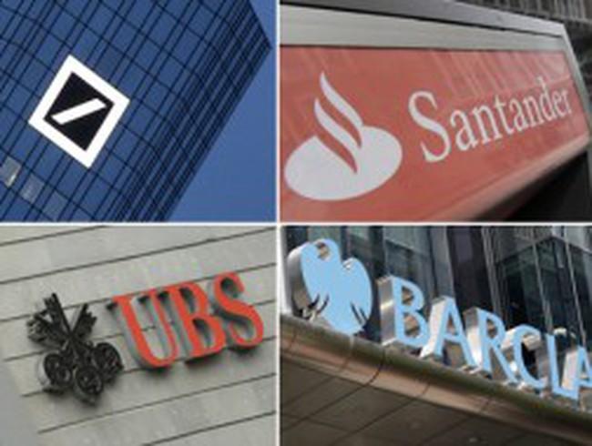 U ám bức tranh ngân hàng châu Âu