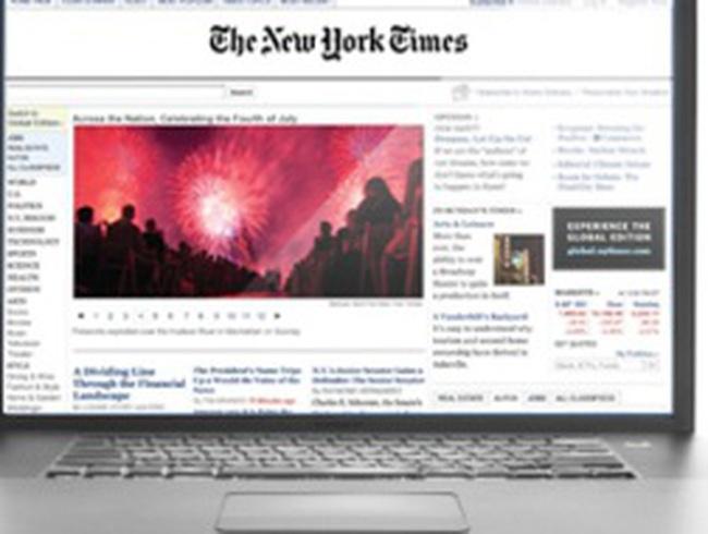 Website New York Times bị đánh sập