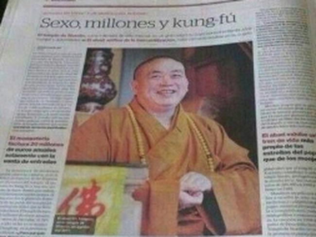 Sex, tiền và kungfu ở 'vương quốc' Thiếu Lâm Tự