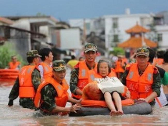 Mưa bão làm hơn 100 người thiệt mạng ở Trung Quốc