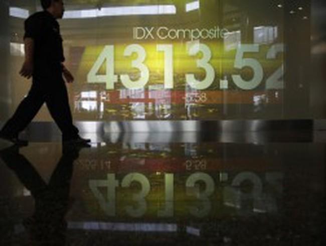 TTCK Indonesia lao dốc mạnh vì nỗi lo rút vốn