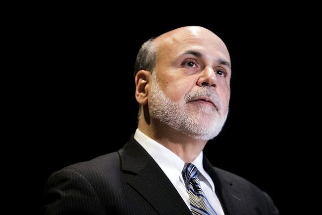 FOMC ủng hộ mạnh mẽ lộ trình thu hẹp QE của Bernanke