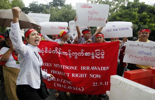 Trung Quốc và chỗ 'đứng chân' không vững tại Myanmar