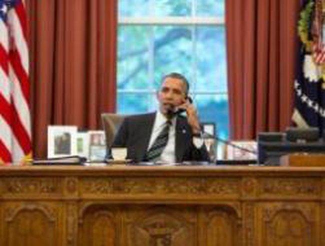 Thiếu tiền, Văn phòng Tổng thống Obama bị cắt điện thoại