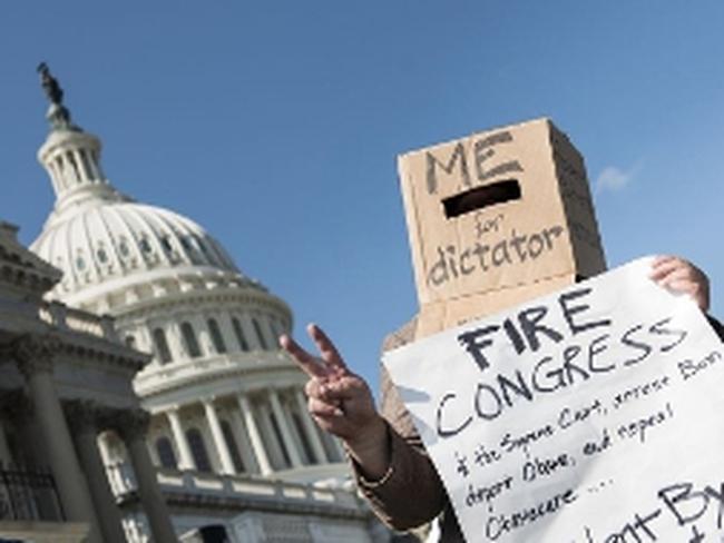 Biểu tình đòi chính phủ Mỹ mở cửa trở lại