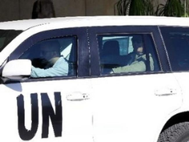 Chuyên gia LHQ bắt đầu hủy kho vũ khí hóa học Syria