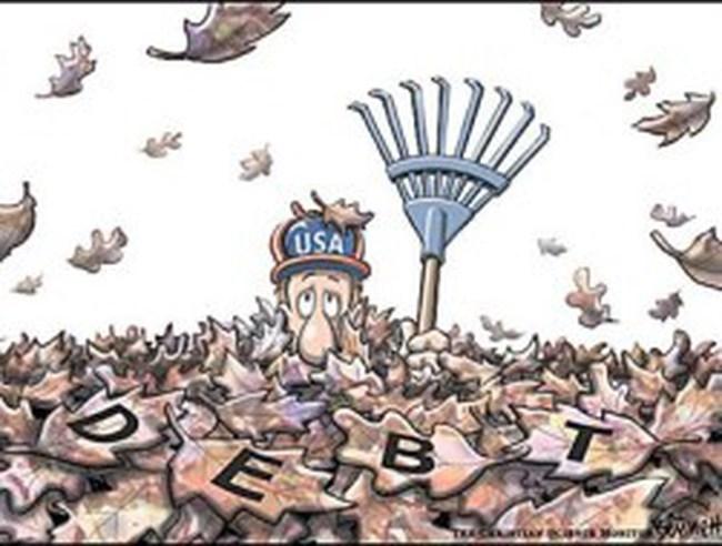 """""""Mỹ có thể tránh vỡ nợ nhưng khó thoát suy thoái"""""""