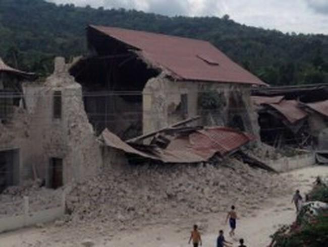 Philippines: Động đất mạnh, hơn 70 người thiệt mạng