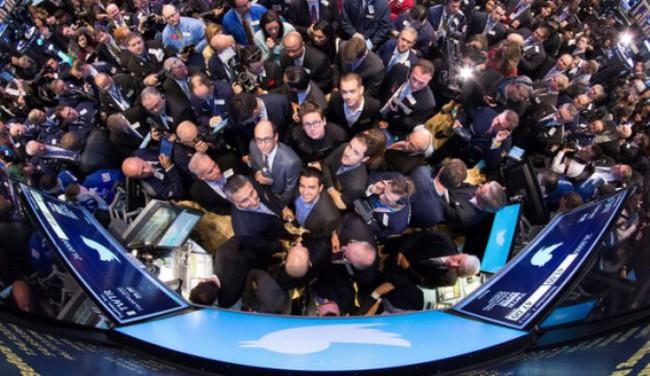 Cổ phiếu Twitter tăng 85% trong phiên đầu giao dịch