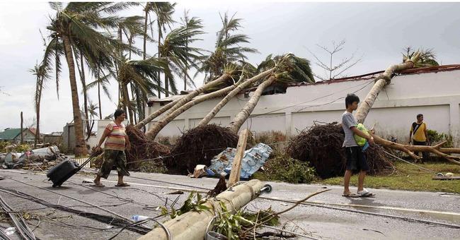 Hình ảnh Philippines tan hoang sau bão