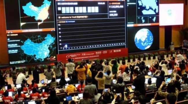 """Một ngày, """"đại gia"""" bán lẻ trực tuyến Trung Quốc thu 5,7 tỷ USD"""