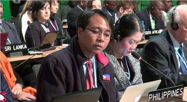 Bài phát biểu về bão Haiyan gây chấn động hội nghị biến đổi khí hậu