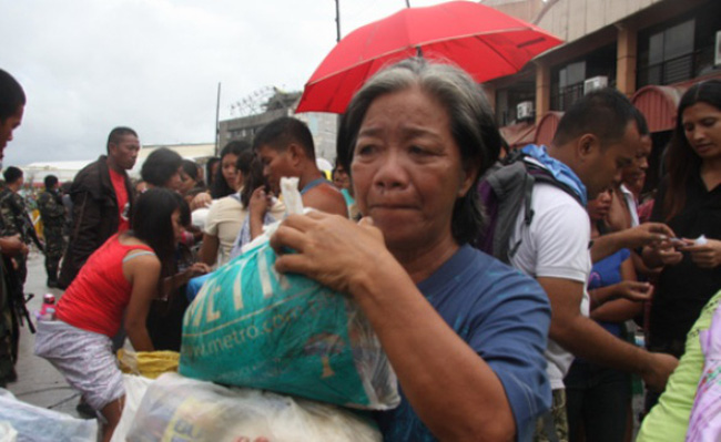 Bóng tối ở Tacloban