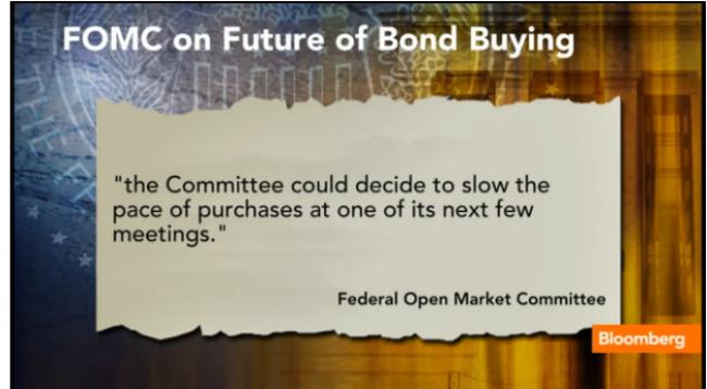 Fed có thể rút QE trong vài tháng tới