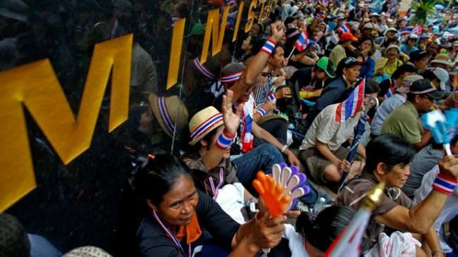 Thái Lan: Biểu tình lan rộng ra nhiều tỉnh thành