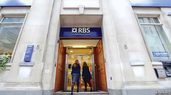 """Ngân hàng RBS: """"Chơi xấu"""" với nợ xấu"""