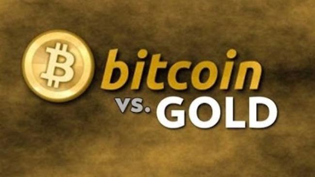 1 Bitcoin = 1 ounce vàng