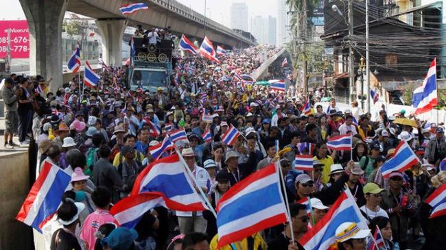 Thái Lan: tiếp tục biểu tình chống chính phủ