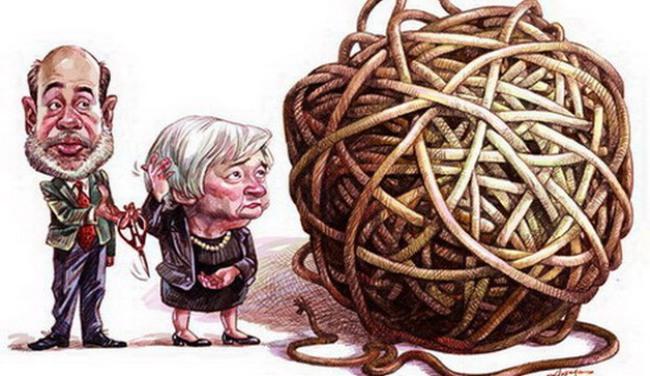 Khi văn phòng Chủ tịch Fed phải thay thảm
