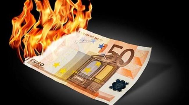 [Chart] Nỗi đau của eurozone