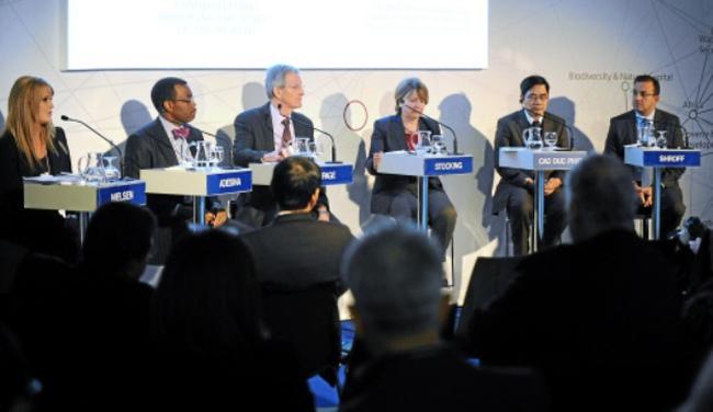 Đại biểu Việt Nam mang thông điệp tới Davos