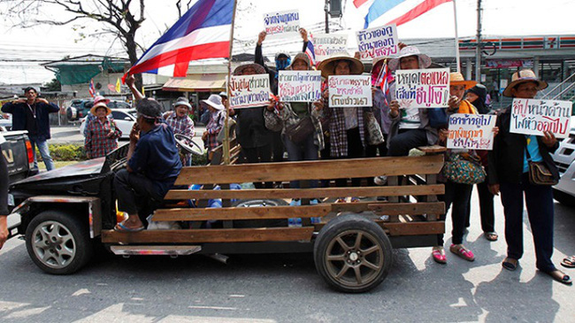 Lãnh đạo biểu tình Thái Lan đòi chiếm kho gạo