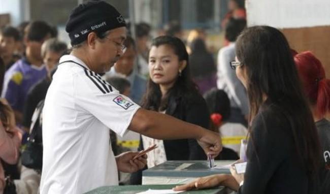 Thái Lan quyết định tổ chức bầu cử lại tại nhiều điểm