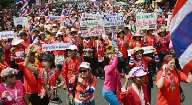 Thái Lan: Nổ bom tại khu vực biểu tình ở thủ đô Bangkok