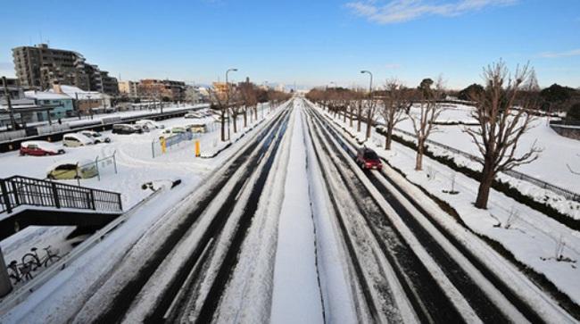 Nhật hứng bão tuyết lớn nhất trong 78 năm
