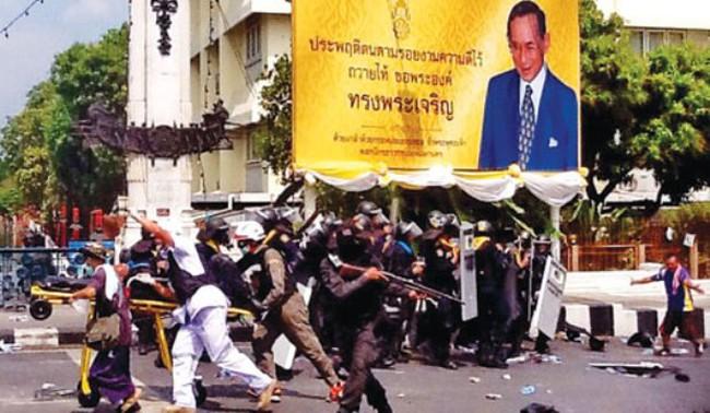 Đụng độ đẫm máu ở Thái Lan