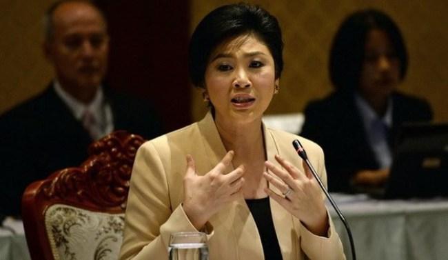 Bà Yingluck không đích thân tới nghe cáo buộc
