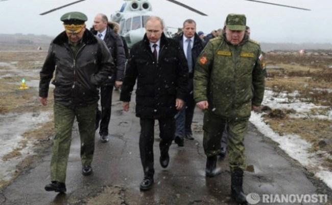 Ông Putin ra lệnh binh lính gần biên giới Ukraine trở về căn cứ