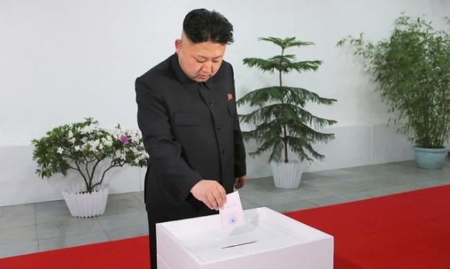 Kim Jong-Un thắng cử tuyệt đối trong cuộc bầu cử quốc hội