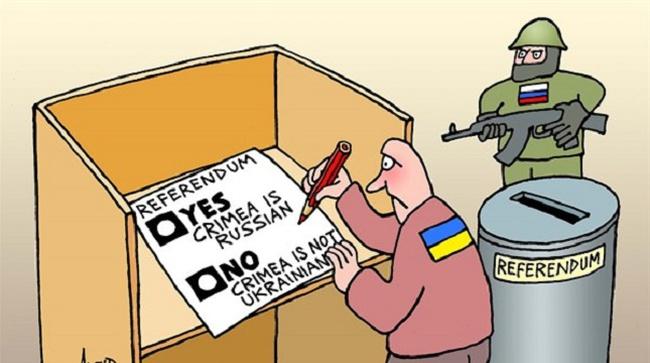 Hiểu thêm về trưng cầu dân ý ở Crimea