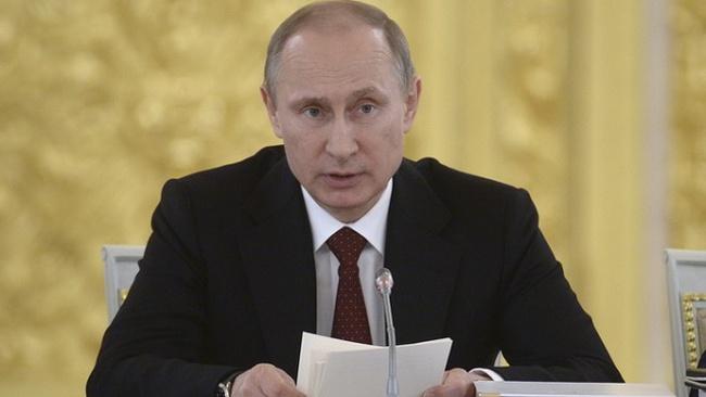Tỉ lệ dân Nga ủng hộ Tổng thống Putin tăng lên mức 80%