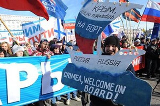 Nga bổ sung Crimea vào bản đồ của đất nước