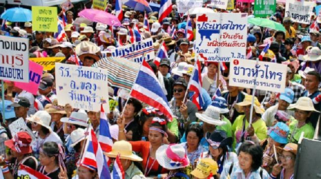 Thái Lan căng thẳng trở lại