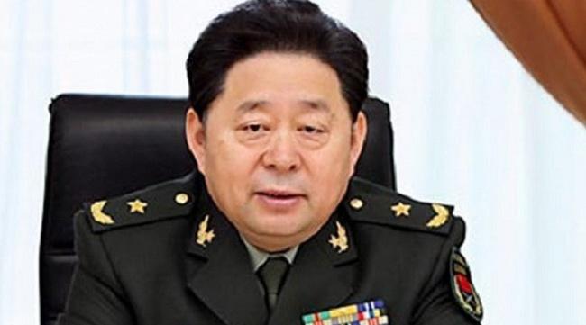 Tướng Trung Quốc phụ trách hậu cần bị tố tham nhũng