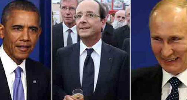Bữa tối vất vả của ông Hollande