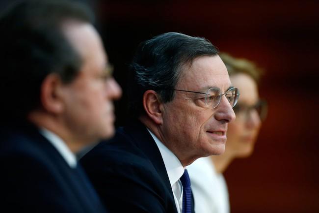 ECB hạ lãi suất tiền gửi xuống dưới 0