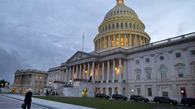 Máy bay lạ vào vùng cấm, Quốc hội Mỹ sơ tán khẩn cấp
