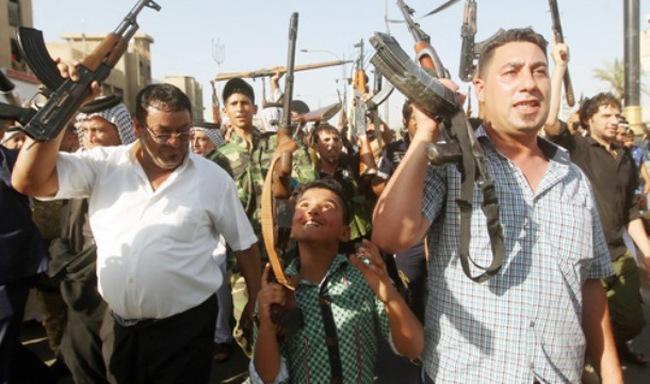 Mỹ đưa quân đến Iraq
