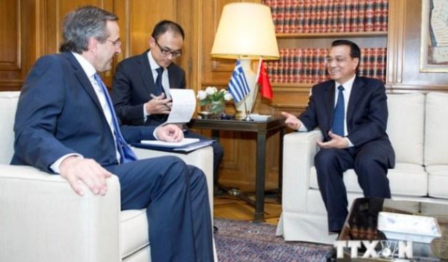 Hy Lạp-Trung Quốc ký 10 thỏa thuận thương mại trị giá 4,6 tỷ USD