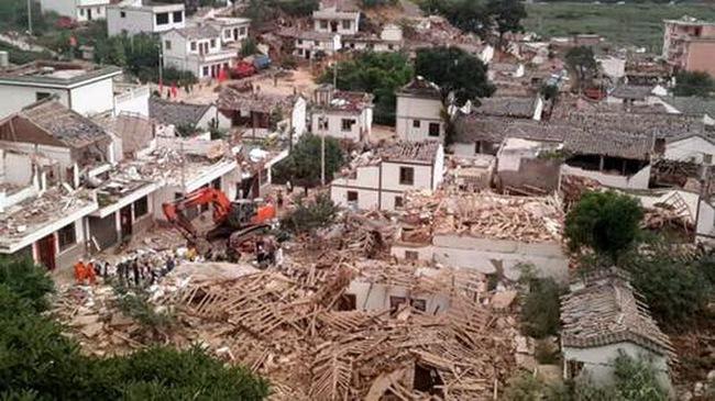 Thành phố của Trung Quốc tan hoang sau động đất